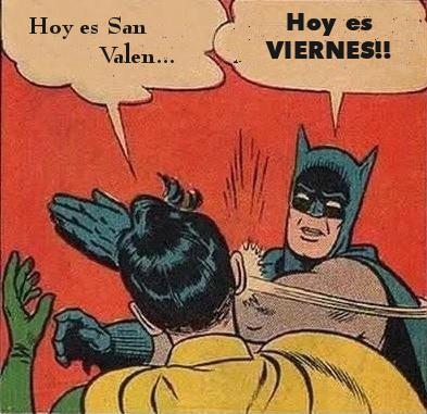 Batman San Valentin