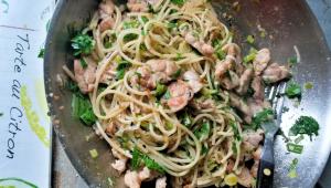 Spaghetti con mollejasB2